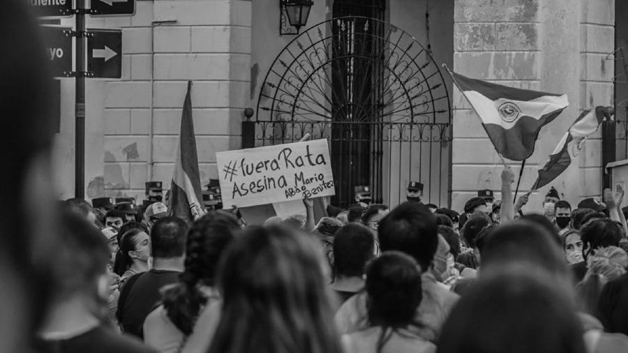 Paraguay movilizacion Asuncion la-tinta