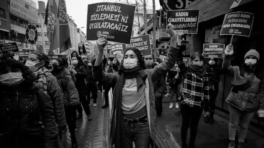 Turquia Convencion de Estambul protestas la-tinta