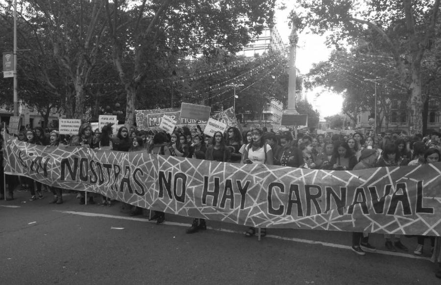 Uruguay Dia Internacional de la Mujeres la-tinta