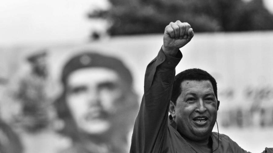Venezuela Hugo Chavez Che Guevara la-tinta