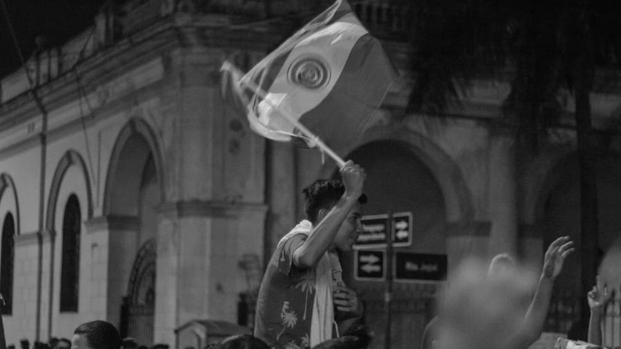 Paraguay movilizacion bandera la-tinta