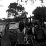 Desalojaron acampe contra la línea de Alta Tensión en Suncho Huayco, Bialet Massé