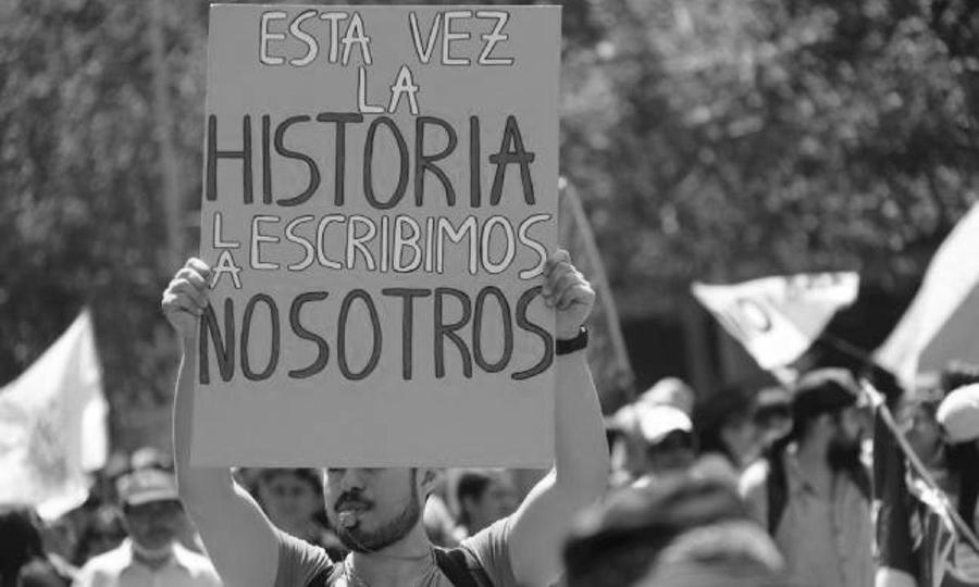 chile nueva constitucion manifestacion la-tinta