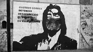 Villa Allende: atacan mural homenaje a detenido-desaparecido de la dictadura