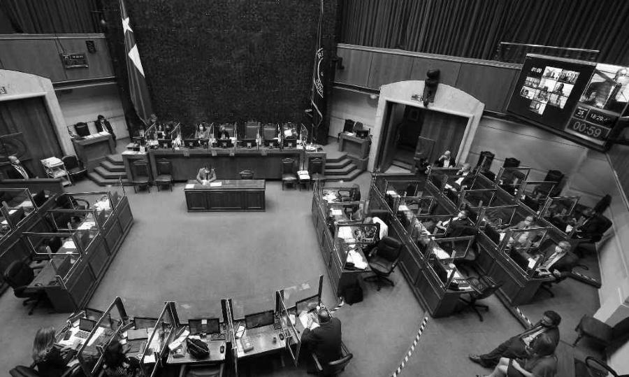Chile camara de senadores la-tinta