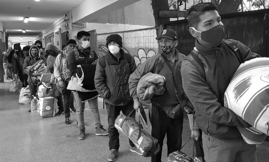 Chile migrantes bolivianos la-tinta