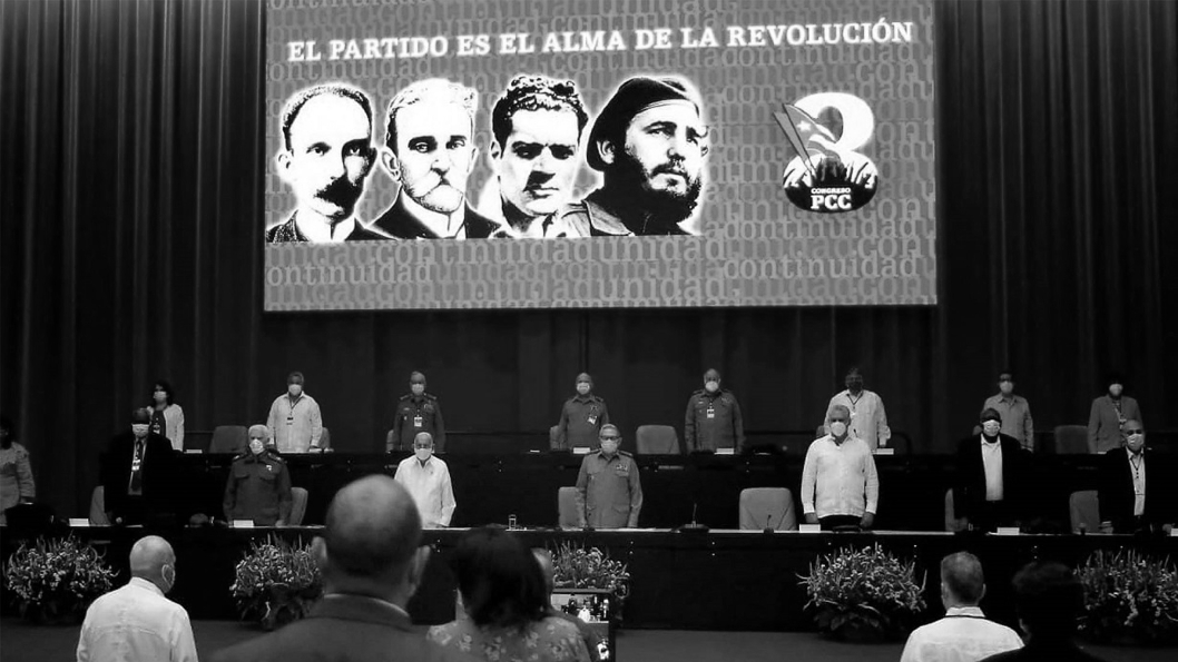 Cuba congreso partido comunista la-tinta