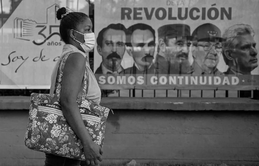 Cuba coronavirus calles la-tinta