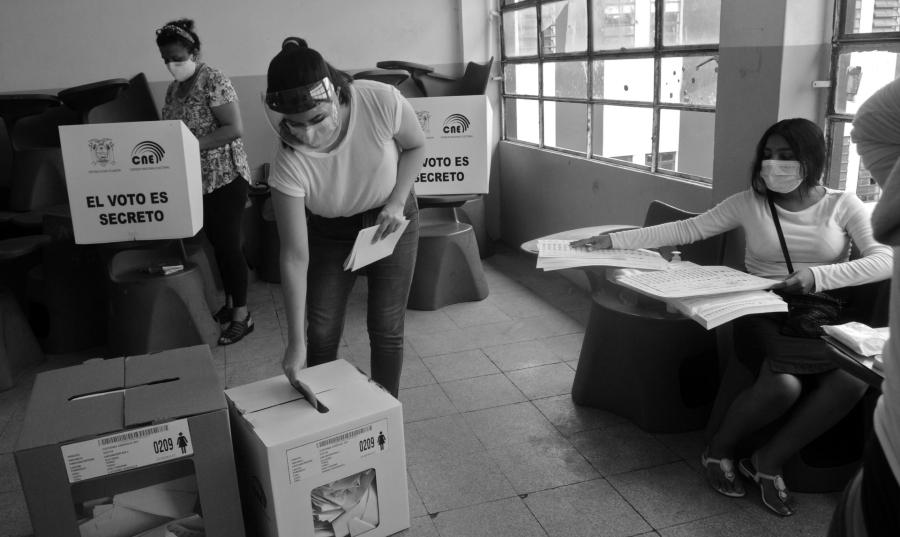 Ecuador centros de votacion la-tinta