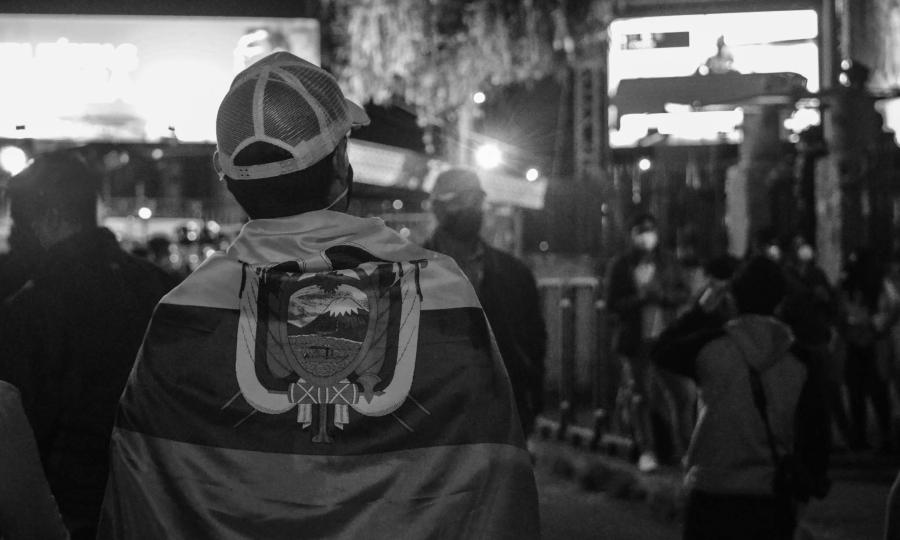 Ecuador elecciones presidenciales gente la-tinta