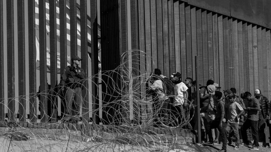Mexico Estados Unidos frontera migrantes la-tinta