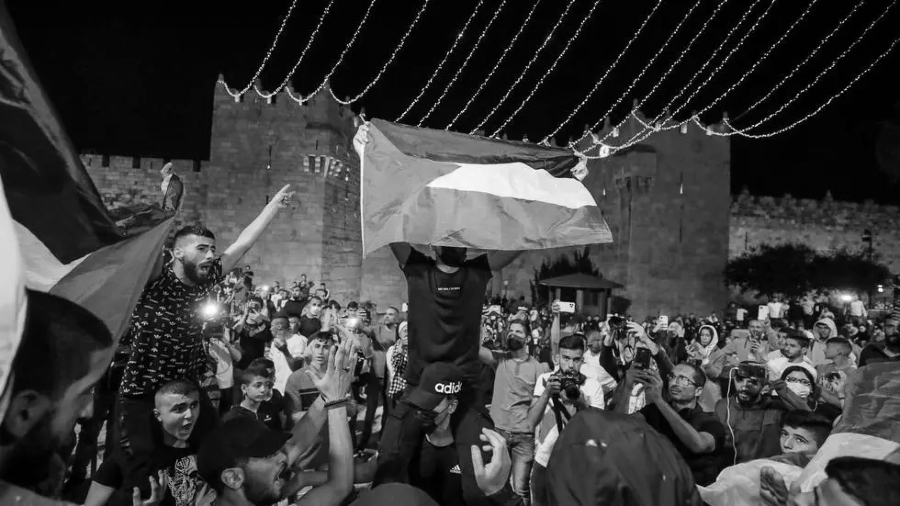 Palestina protestas Cisjordania la-tinta