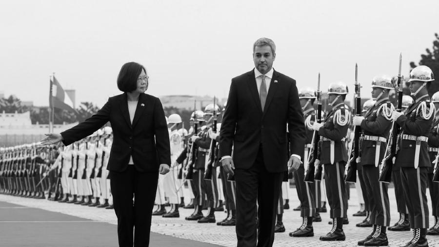 Paraguay presidente Abdo Taiwan la-tinta
