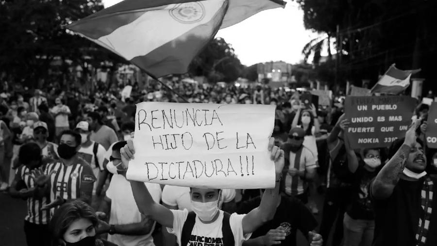 Paraguay protestas masivas contra el presidente la-tinta