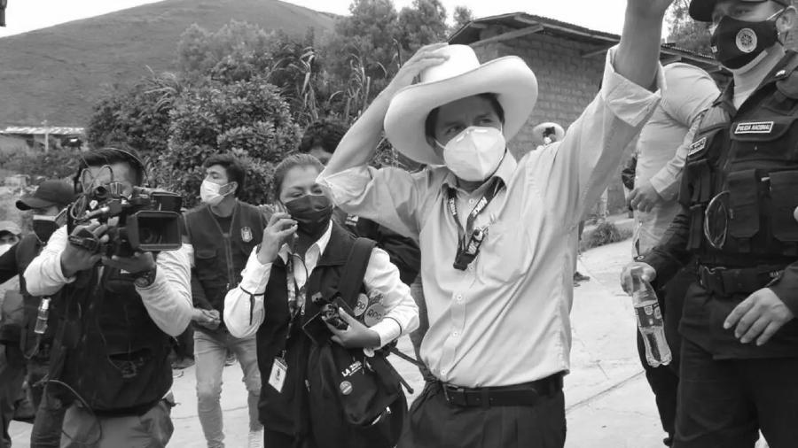 Peru Pedro Castillo candidato presidencial la-tinta