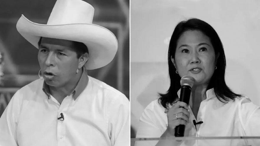 Peru Pedro Castillo y Keiko Fujimori la-tinta