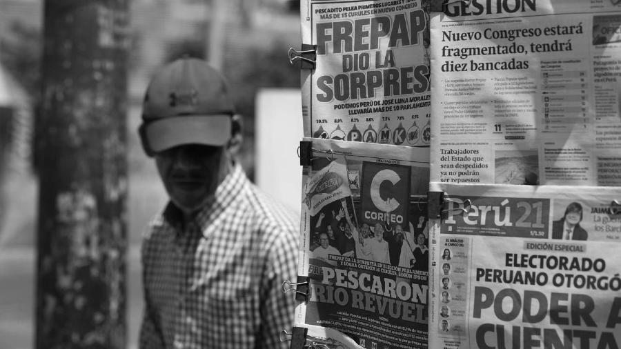 Peru campaña electoral la-tinta