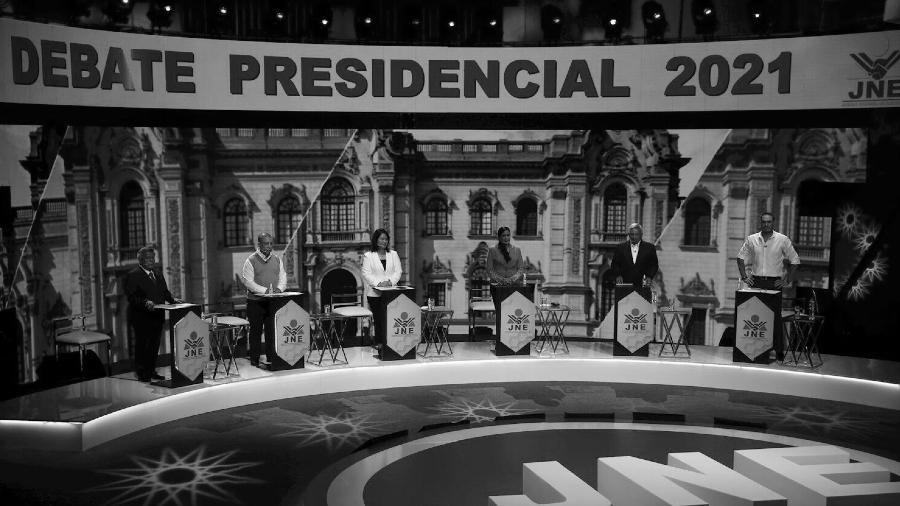Peru debate presidencial 2021 la-tinta