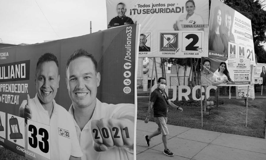 Peru elecciones 2021 campaña la-tinta