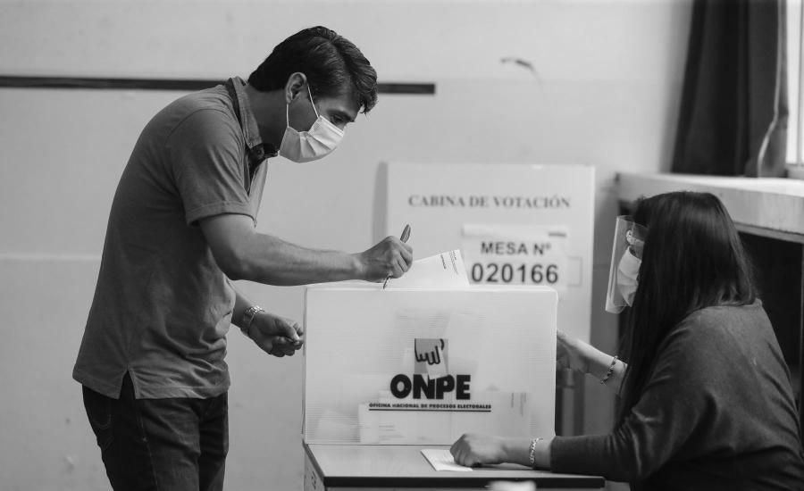 Peru elecciones presidenciales votacion la-tinta