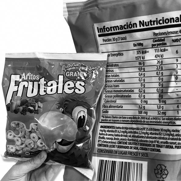 alimentos-fruta-lácteos-etiquetados-cereales-azucar
