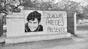 A seis meses del crimen de Joaquín Paredes: no hay paz con impunidad