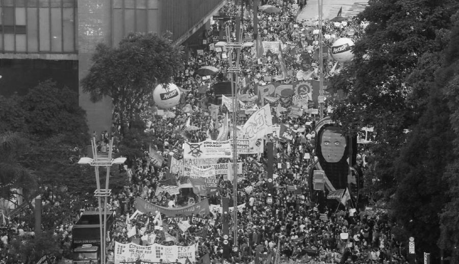 Brasil movilizaciones masivas contra Bolsonaro la-tinta
