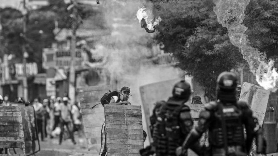 Colombia Cali enfrentamientos la-tinta