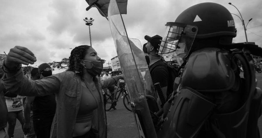 Colombia Cali represion la-tinta