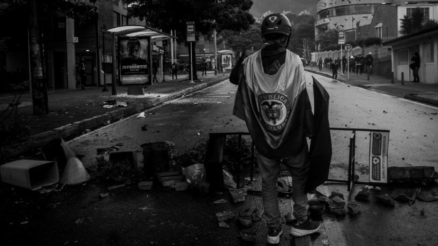 Colombia manifestantes en las calles la-tinta