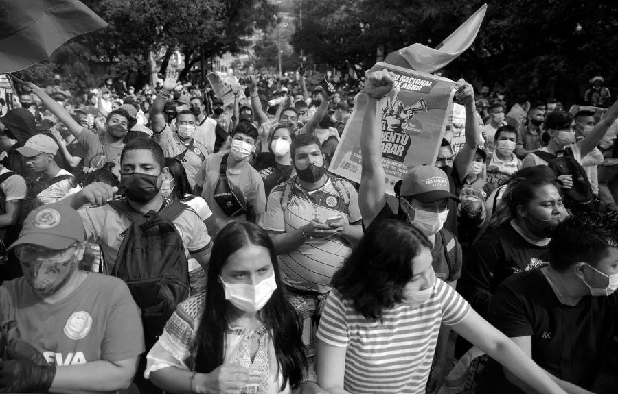 Colombia movilizaciones masivas la-tinta
