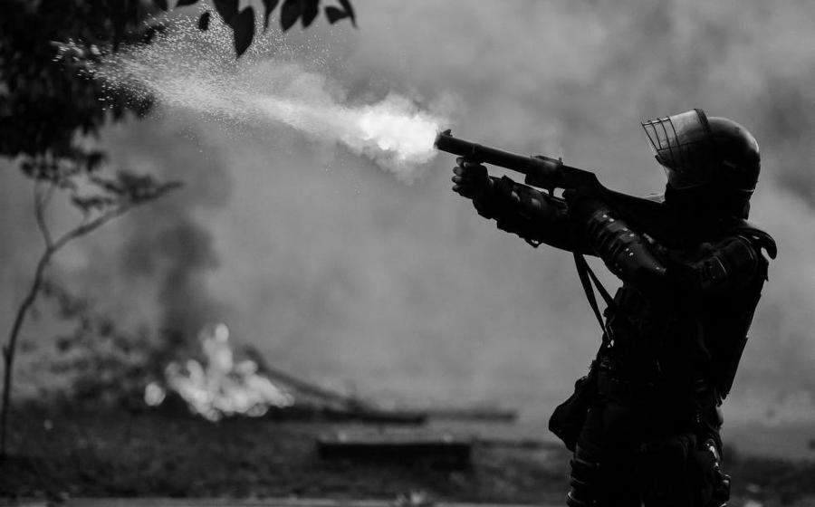 Colombia policia represion la-tinta