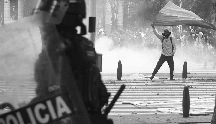 Colombia protesta contra represion la-tinta