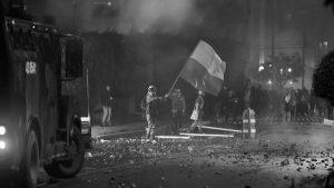 Crisis neoliberal, protesta social y autoritarismo en Colombia
