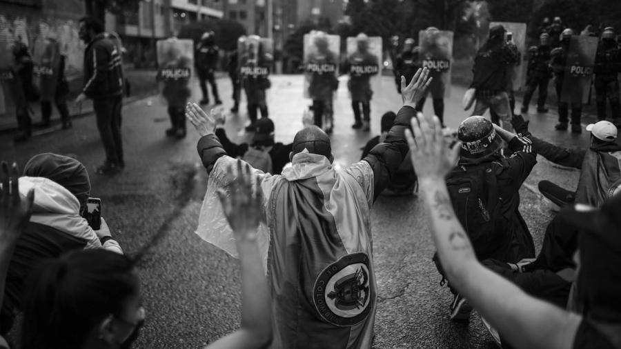 Colombia pueblo movilizacion represion la-tinta