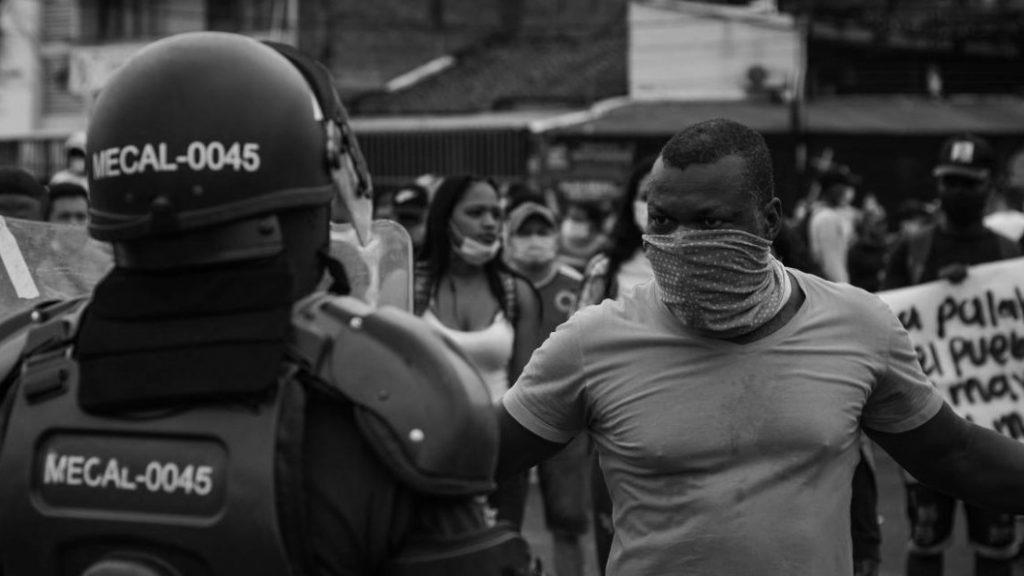 Colombia resistencia a represion policial la-tinta