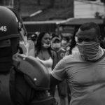 """""""En Colombia vivimos la intervención de la policía a sangre y fuego"""""""