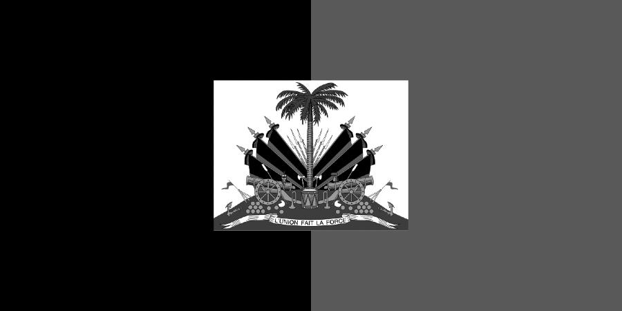 Haiti Bandera de los Duvalier la-tinta