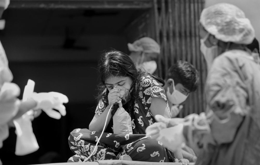India niños con coronavirus la-tinta