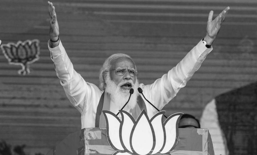 India primer ministro Modi la-tinta