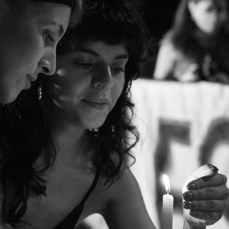 Mujeres-Lesbianas-tortas-vela-fuego-La-tinta