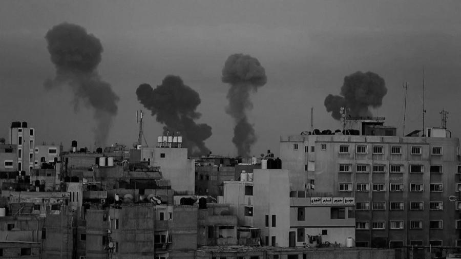 Palesitna Gaza ataques masivos la-tinta
