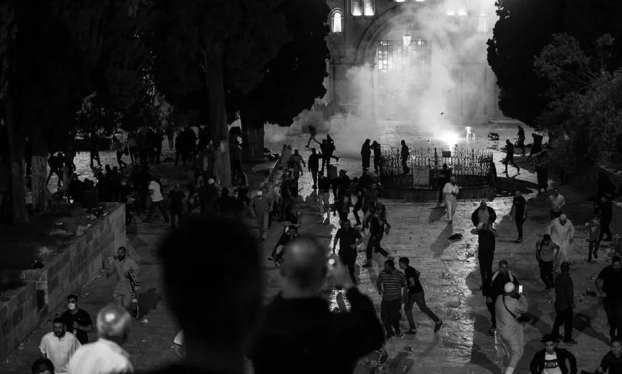 Palestina Al Aqsa represion contra palestinos la-tinta