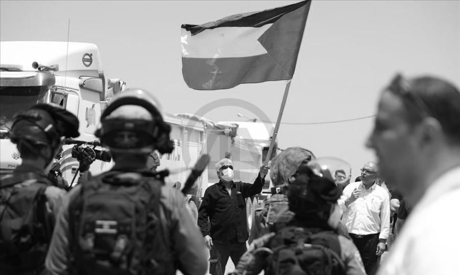 Palestina Cisjordania protesta contra ocupacion la-tinta