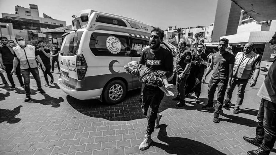 Palestina Gaza masacre niños la-tinta