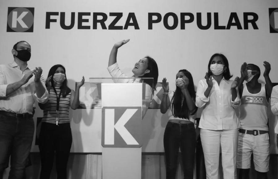 Peru Keiko Fujimori Fuerza Popular la-tinta