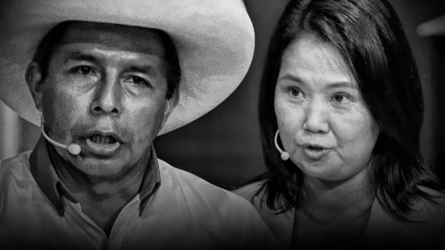 Peru Pedro Castillo Keiko Fujimori la-tinta