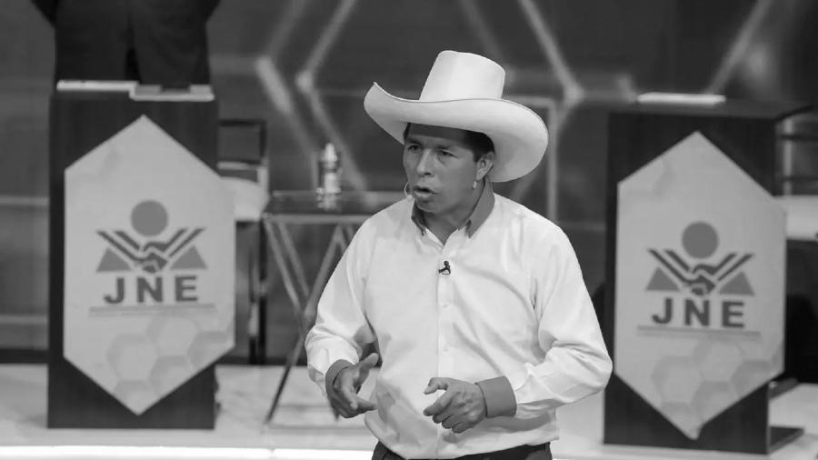Peru Pedro Castillo candidato Peru Libre la-tinta