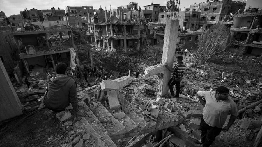 palestina gaza destruida la-tinta