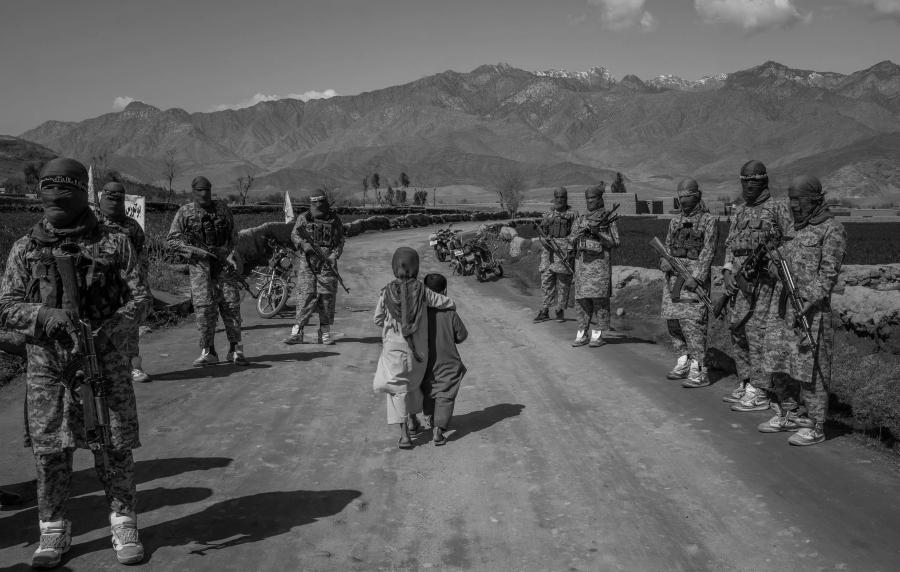 Afganistan unidades talibanes la-tinta